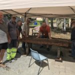 Men's shed delivers the pub table