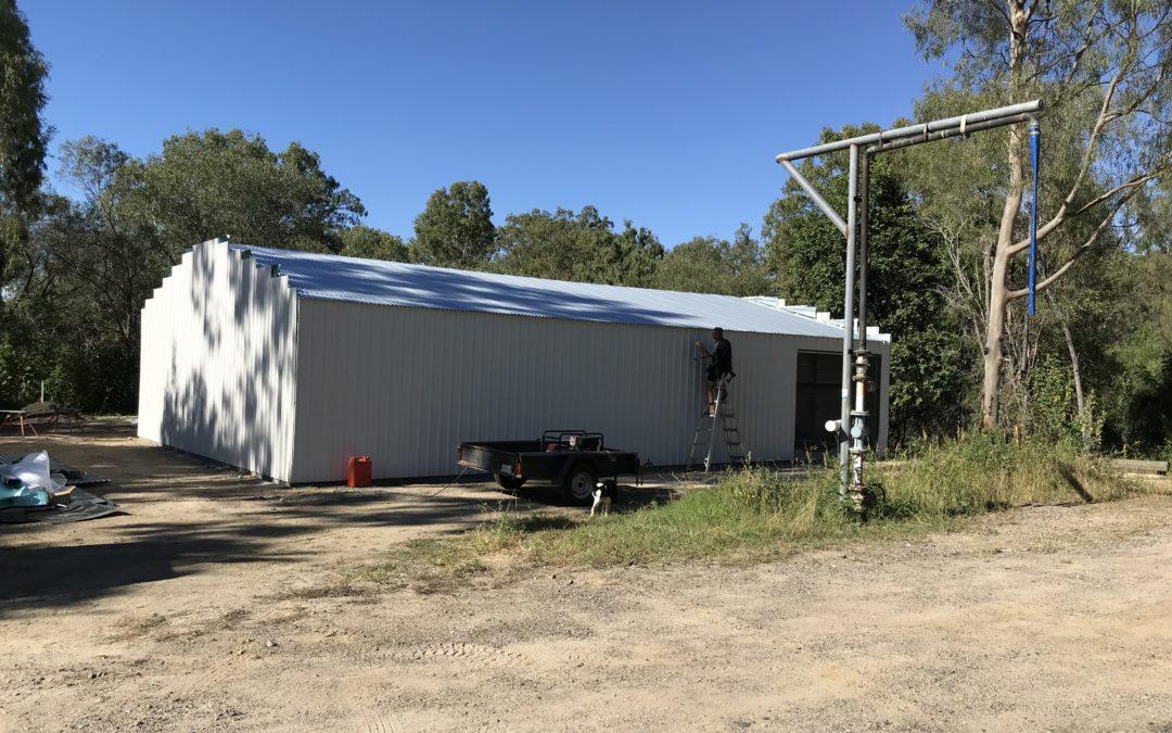 Finished shed photos