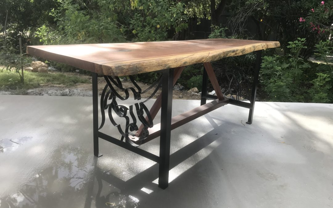 Polished Hardwood Table – Raffle